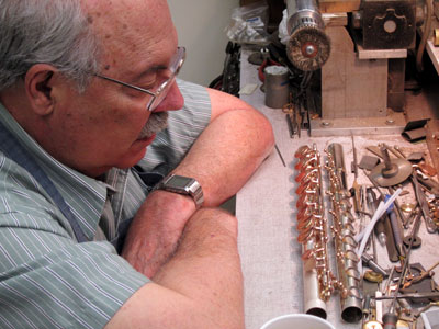Collaboration starts with Bickford Brannen on a Kingma System® C-flute